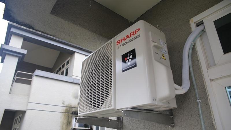 一機抵四台,夏普自動除菌變頻冷暖分離式空調開箱 (AY-40VAMH-W/AE-40VAMH) image003
