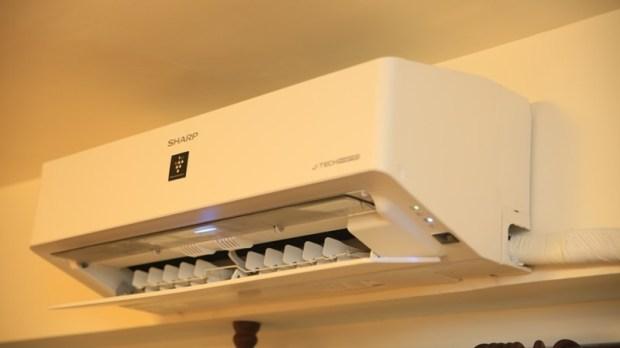 一機抵四台,夏普自動除菌變頻冷暖分離式空調開箱 (AY-40VAMH-W/AE-40VAMH) image011