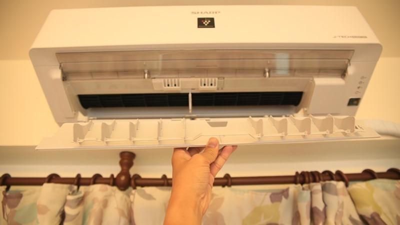 一機抵四台,夏普自動除菌變頻冷暖分離式空調開箱 (AY-40VAMH-W/AE-40VAMH) image031