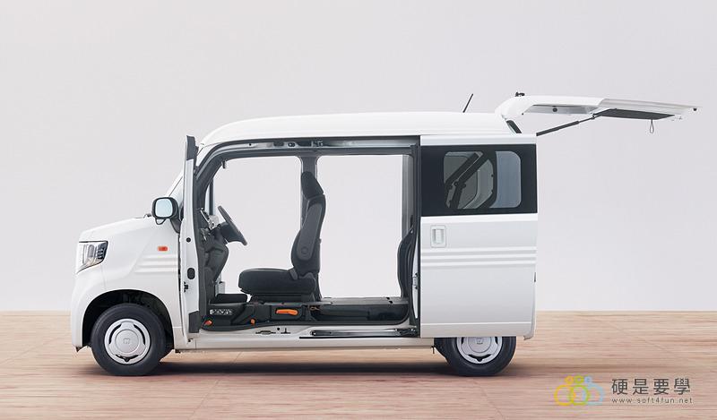 麵包車新選擇,Honda N-Van 搶攻日本輕型商用車市場 001_o