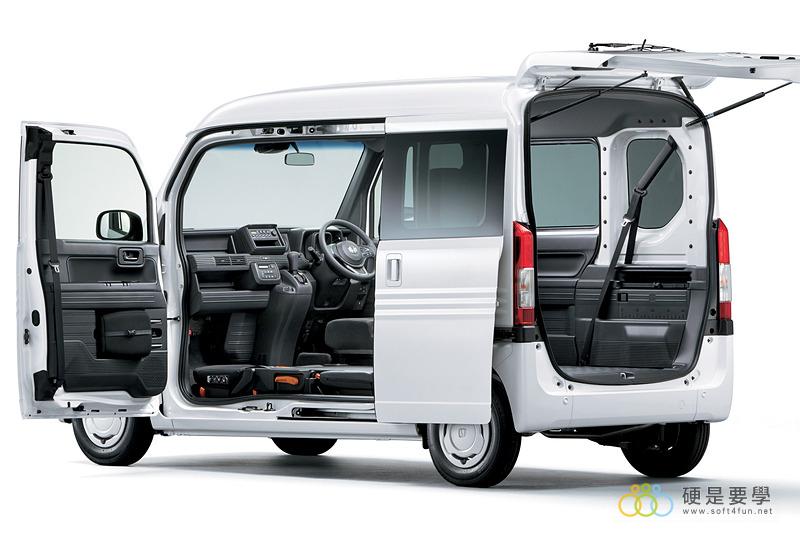 麵包車新選擇,Honda N-Van 搶攻日本輕型商用車市場 013_o