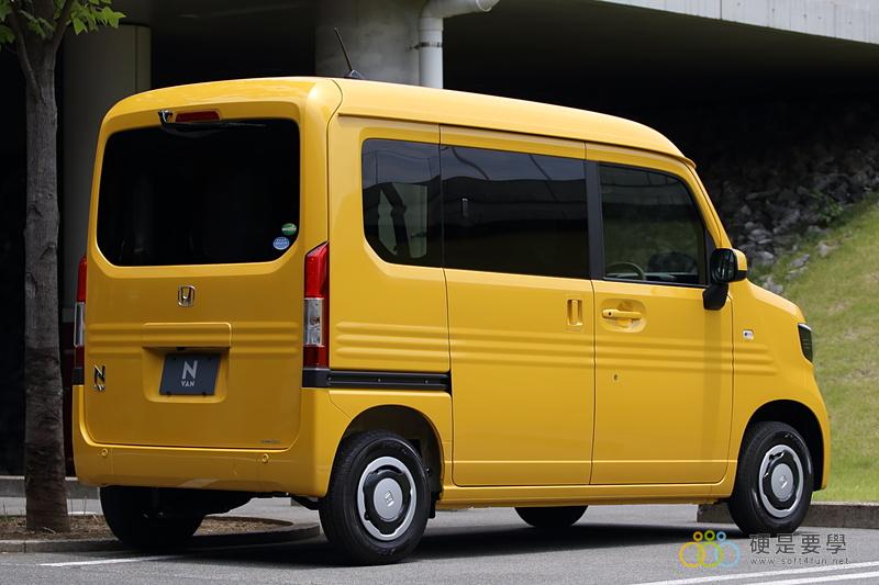 麵包車新選擇,Honda N-Van 搶攻日本輕型商用車市場 03_o
