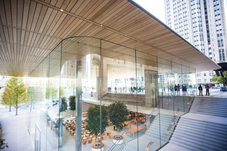 [有圖] 蘋果 2 代店現身信義計畫區?現場比對相似度極高 apple-store-chicago2