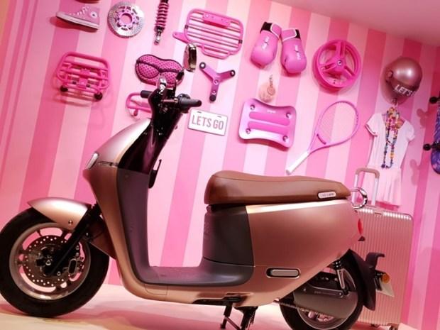 情人節粉紅突襲!Gogoro 推出粉色 Gogoro 2 Delight,首購就送粉紅關鍵配件組 20180817_142408