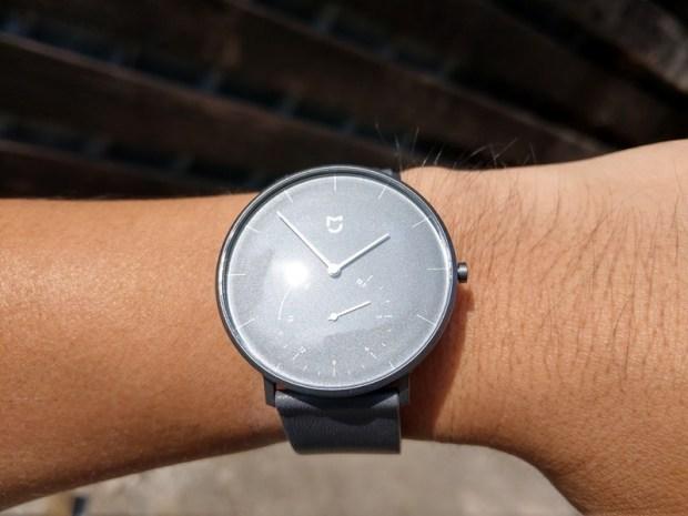 米家石英錶開箱評測,簡約典雅、運動計步、生活防水,續航力可達 6 個月以上 IMAG0802