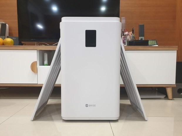 [開箱/評測] BRISE C600 空氣清淨機:安靜到讓你幾乎忘了它的存在 20181128_233140