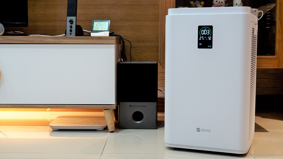 評測/BRISE C600 空氣清淨機:30坪以下空間的最佳選擇 B095781