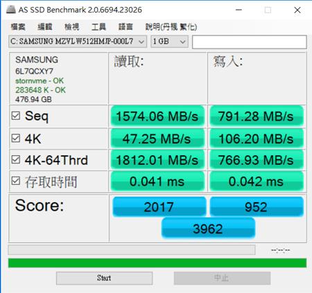 心得/輕薄效能筆電怎麼挑? MateBook X Pro、Lenovo X1 Carbon 評比 as-ssd-benchmark-1