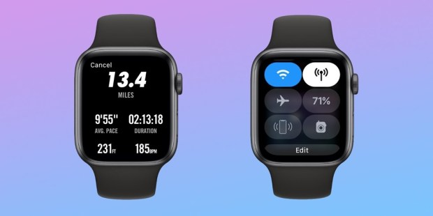 戴 Apple Watch Series 4 跑半馬2小時電量剩餘超過 50%,省電方法分享 watch-recap-too