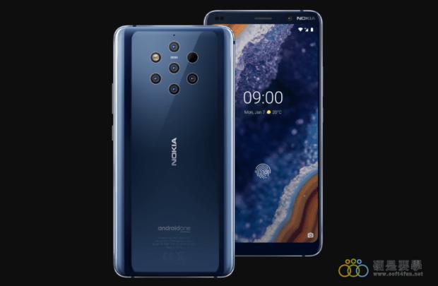 Nokia 9 PureView 發表,5 鏡頭輕鬆捕捉畫面的每一處細節 Nokia-9-pureview