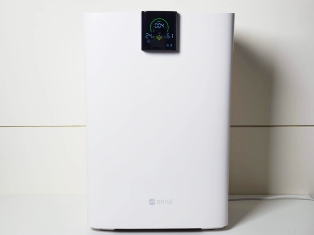 [實測] BRISE C360 空氣清淨機:不只防空汙還抗流感,安靜、每月電費不到15元 20191119_152045
