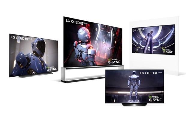 CES 2020:LG 推出多款 OLED 電視機型,亮相 8K/4K NanoCell LCD 奈米電視 G-SYNC-OLED-Line-up