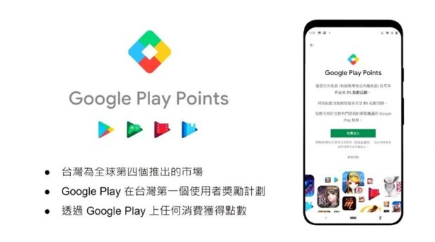 課金拿回饋點數折抵消費,Google Play Points 正式在台開放! %E5%B8%82%E5%A0%B4