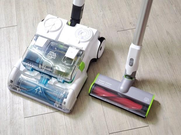 [開箱] 向拖地說掰掰!Hippolo 無線洗地機幫你輕鬆搞定地板清潔,還能消毒殺菌 20200330_210404