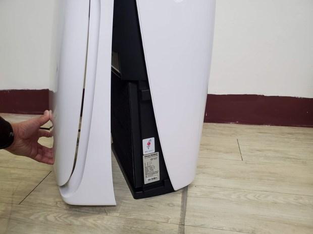 清淨機可以100%過濾髒污?可以!克立淨 A71實測給你看!還有電漿殺菌瞬間滅殺病菌毒 20200422_185011