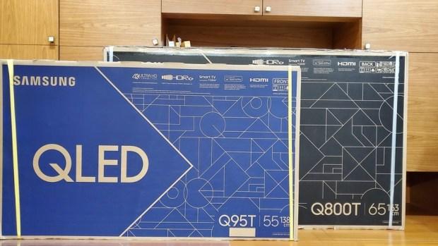 [體驗] 三星 QLED 8K 量子電視 Q800T、QLED 4K 量子電視 Q95T,超高 CP 值讓你更輕鬆打造耳、目一新的視聽體驗 (還有 Soundbar Q70T 介紹) 20200604_103042