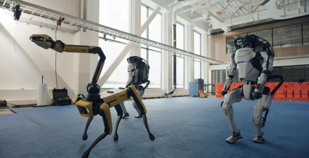 機器人跳舞比人厲害,波士頓動力新影片機器人複雜動作超吸睛 image-2