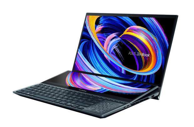 [CES 2021] 華碩推出多款全新筆電,內建多螢幕應用更多元;隨身投影機輕鬆爽投120吋畫面 ASUS-ZenBook-Pro-Duo-15-OLED-UX582