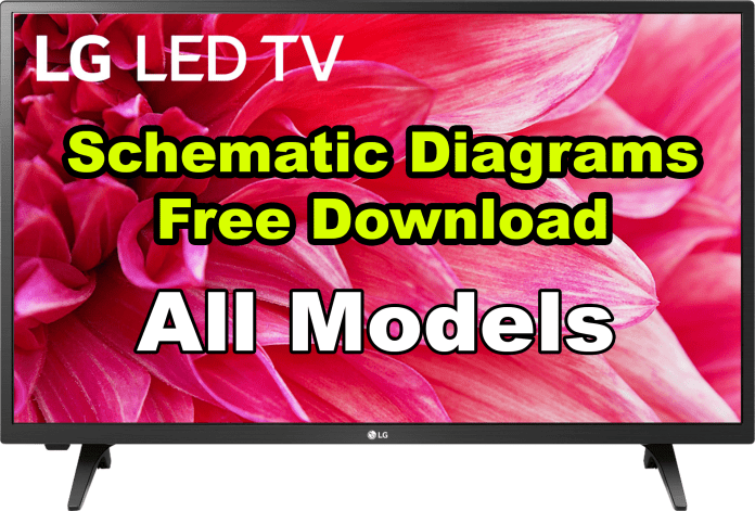 Lg Lcd Led Plasma Tv Circuit Schematic Diagram Service Manual