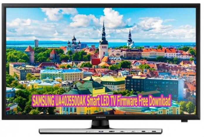 SAMSUNG UA40J5500AK Smart LED TV Firmware Free Download