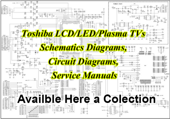 Toshiba LCD LED TV Schematics Diagram