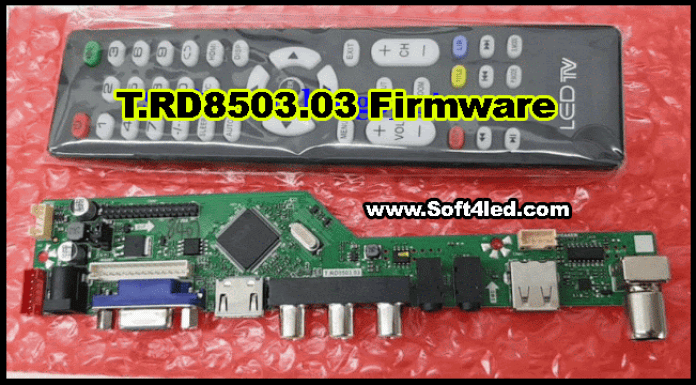 T.RD8503.03 Firmware Download