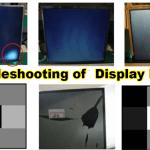 Troubleshooting of Display Panel
