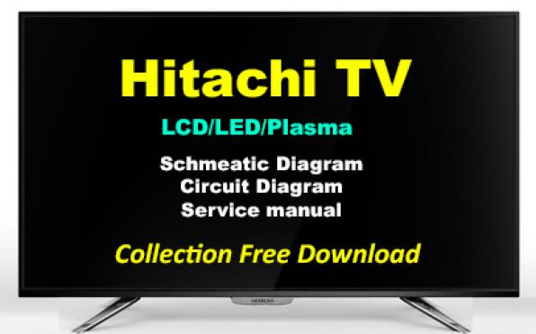 Hitachi TV Schematics Diagram