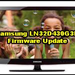 Samsung LN32D430G3D Firmware Update