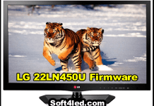 LG 22LN450U Firmware/Software Free Download