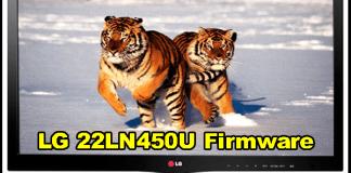 LG 22LN450U Firmware/Software Free Download