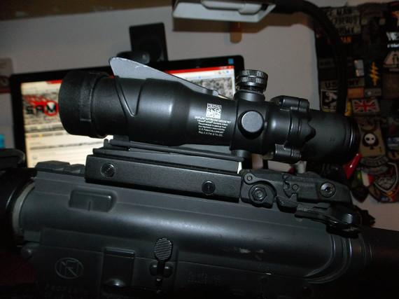 AA-SC-016 - Acog TA31 4x32 - RED Fiber
