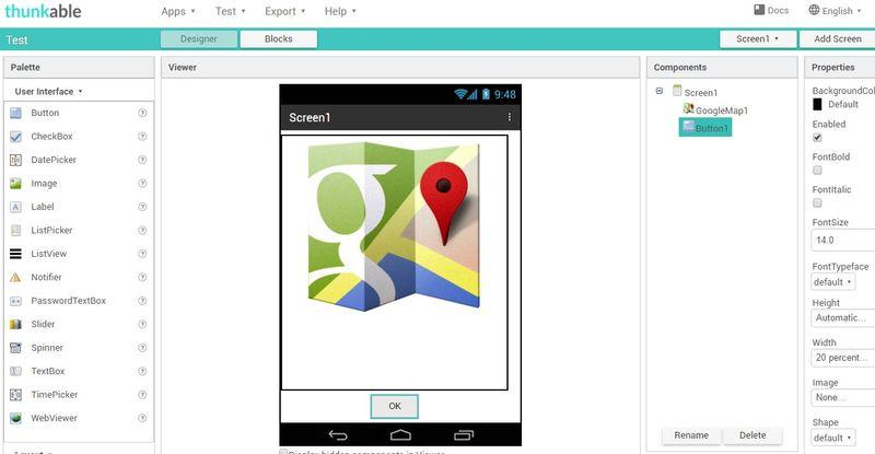 Crear apps Android sin programar Thunkable 5 herramientas gratis para crear apps Android sin programar