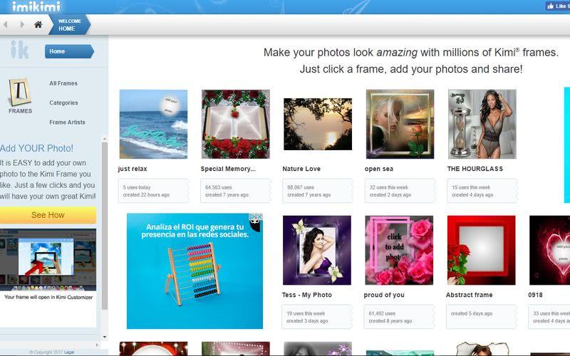 Crear fotomontajes gratis online Imikimi Crear fotomontajes gratis online con estas 10 páginas