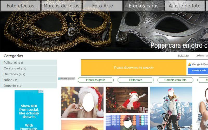 Crear fotomontajes gratis online LoonaPix Crear fotomontajes gratis online con estas 10 páginas
