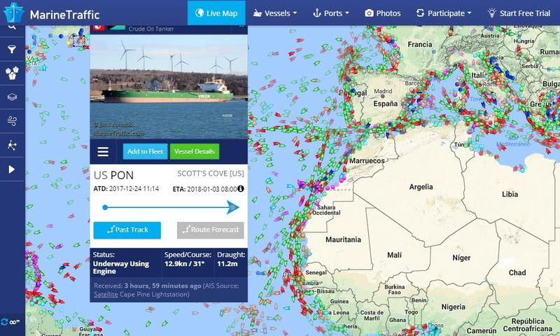 Páginas para seguir el tráfico aéreo y marítimo MarineTraffic 2 páginas para seguir el tráfico aéreo y marítimo en tiempo real
