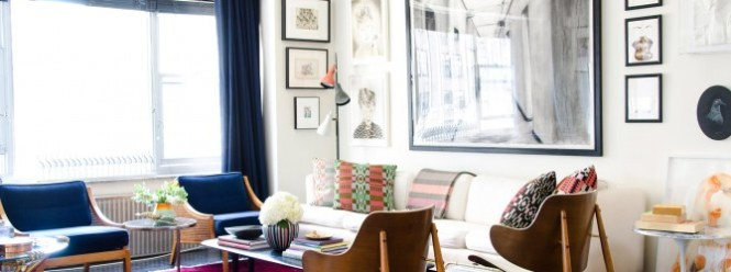 An Artsy Apartment