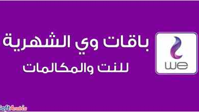 Photo of خطط أسعار باقات WE الشهرية 2021 للنت والمكالمات في مصر