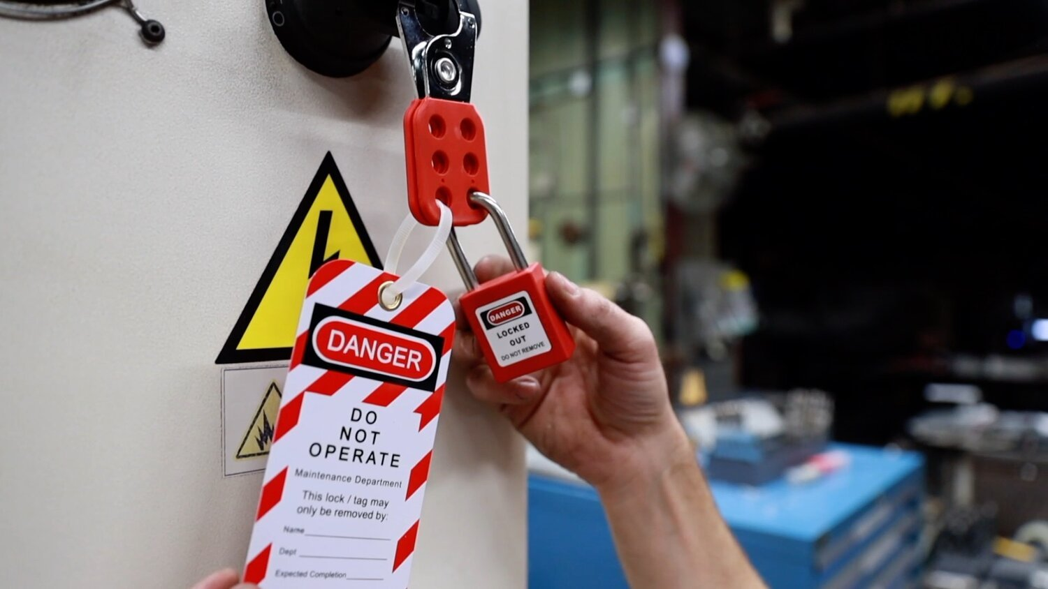 Lockout and Tagout program and its procedure