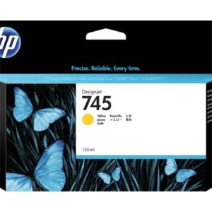 HP 745 130-ml Yellow