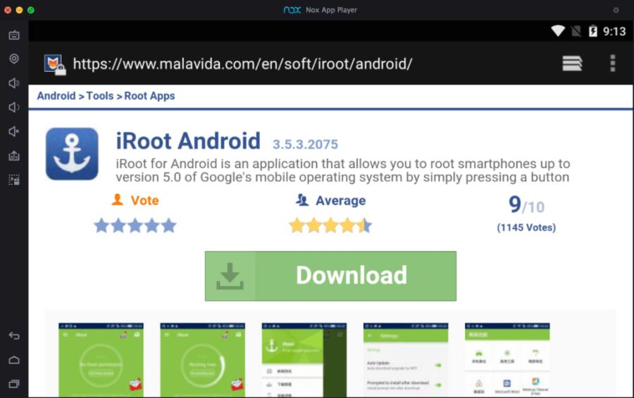download-iroot-on-pc-using-nox-emulator