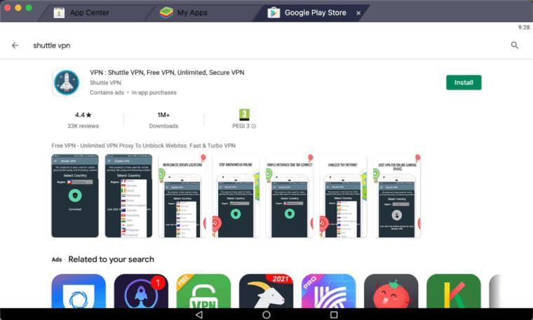 install-shuttle-vpn-on-pc-using-bluestacks-android-emulator