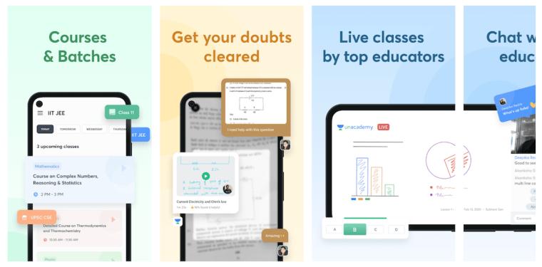 unacademy-android-app-screenshots