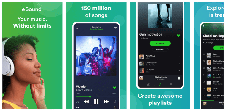 esound-android-app-features