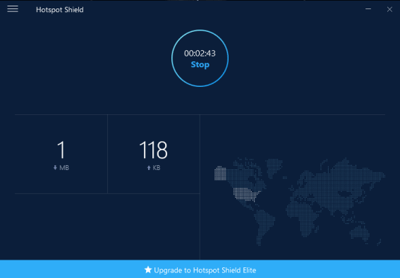 Hotspot Shield windows