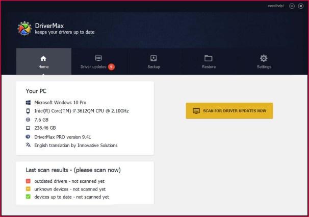 DriverMax Pro windows