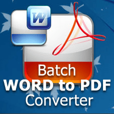 atch Word To PDF Converter