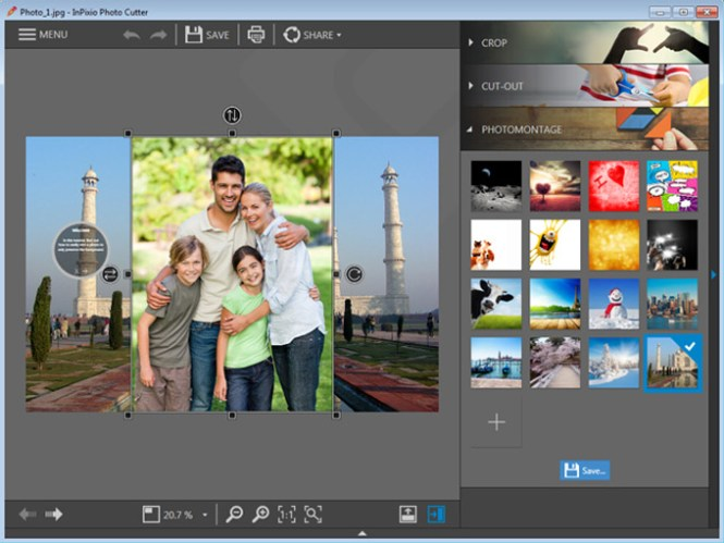 InPixio Photo Clip Professional windows