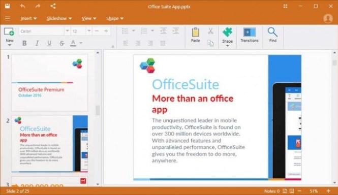 OfficeSuite Premium windows