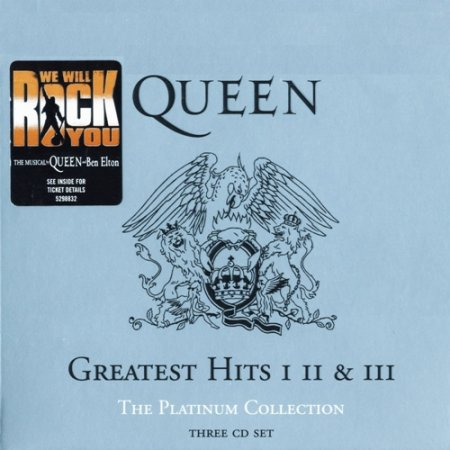 Queen-The Platinum Collection: Greatest Hits I, II&III (3CD) (2000)